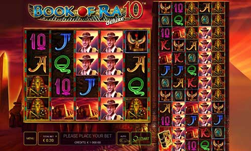 Book of Ra Deluxe 10 free slot