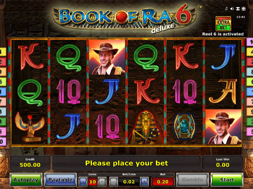 Book of Ra Deluxe 6 casino slot