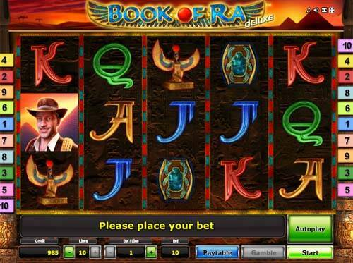 Book of Ra Deluxe casino slot