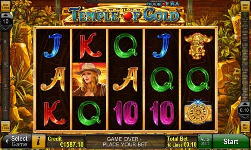 Book of Ra Temple of Gold free slot