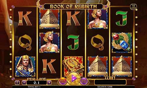 Book of Rebirth free slot