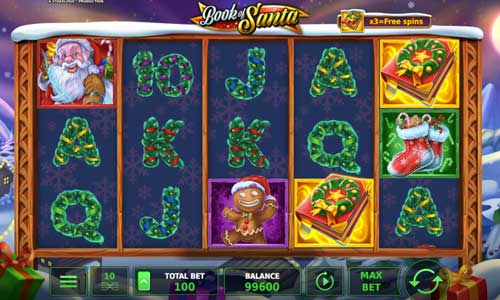 Book of Santa free slot