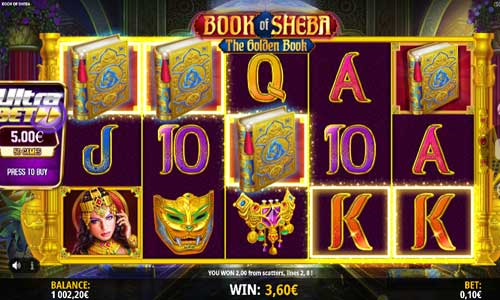 Book of Sheba new slot