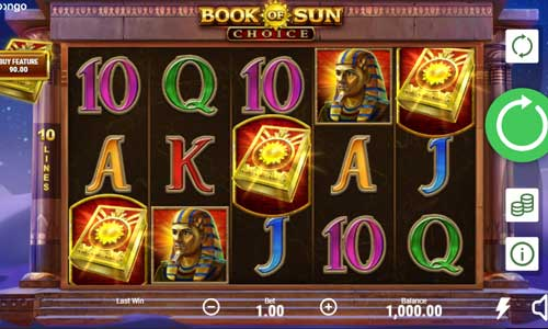 Book of Sun Choice slot