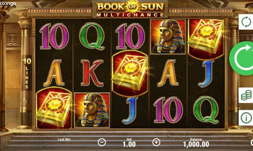 Book of Sun Multichance free slot