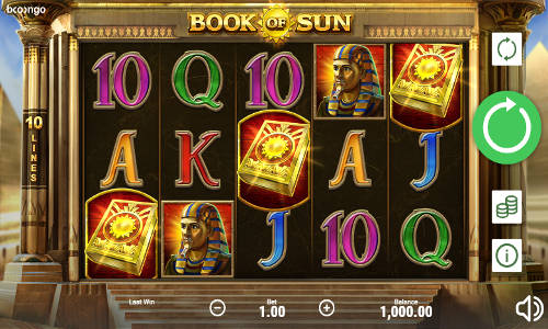 Book of Sun casino slot
