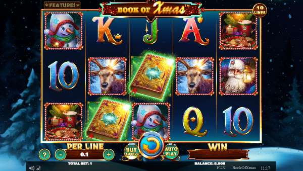 Book of Xmas casino slot