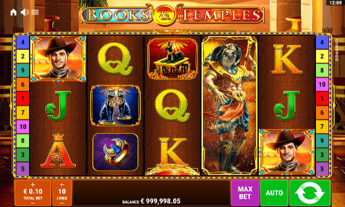 Books and Temples free slot