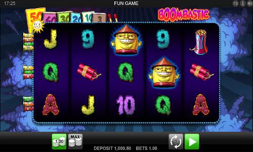 Boombastic free slot