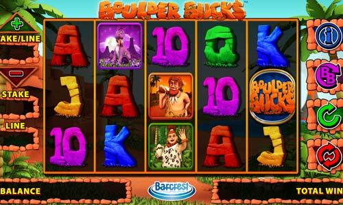 Boulder Bucks free slot