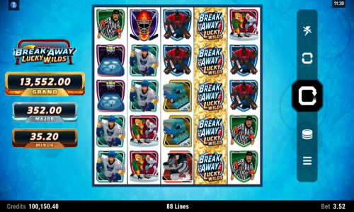 Break Away Lucky Wildsjackpot slot