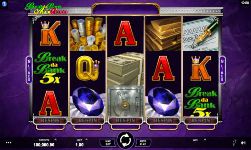 Break da Bank Again Respin free slot