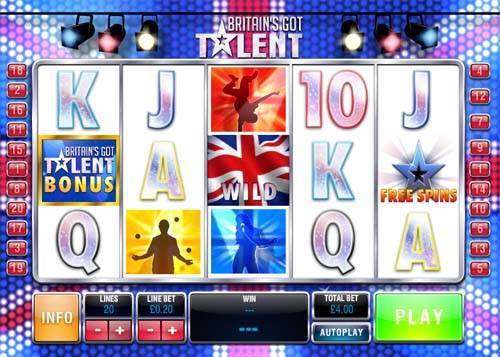 Britains Got Talent free slot