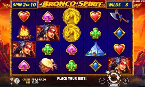 Bronco Spirit free slot