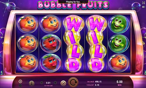 Bubble Fruits free slot