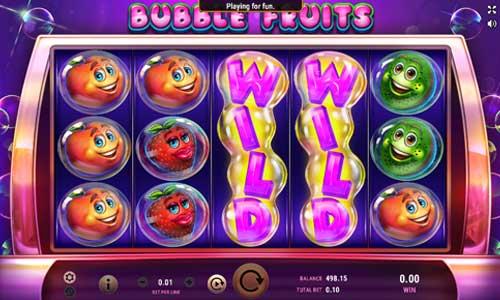 Bubble Fruitswin both ways slot