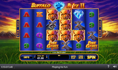 Buffalo Blitz II new slot