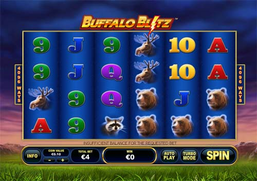Buffalo Blitz free slot
