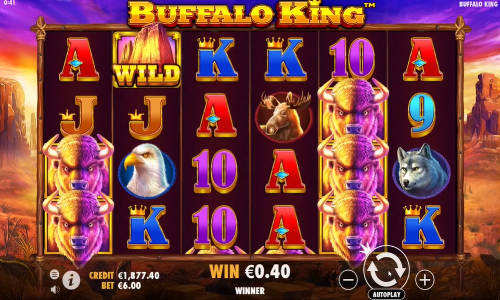 Buffalo King casino slot