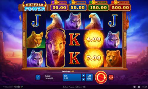 Buffalo Power Hold and Win free slot