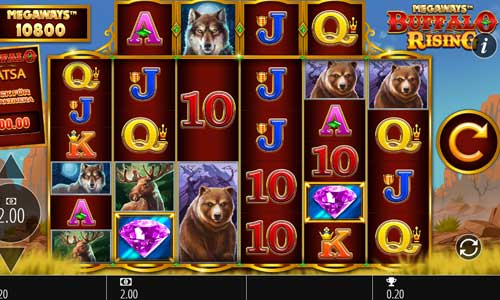 Buffalo Rising Megaways free slot