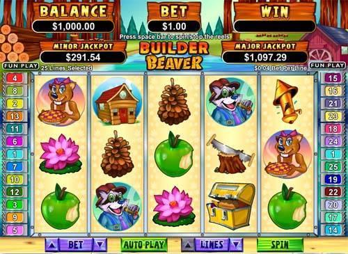 Builder Beaver free slot