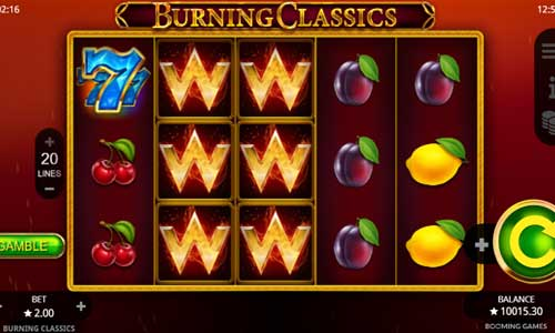 Burning Classics free slot