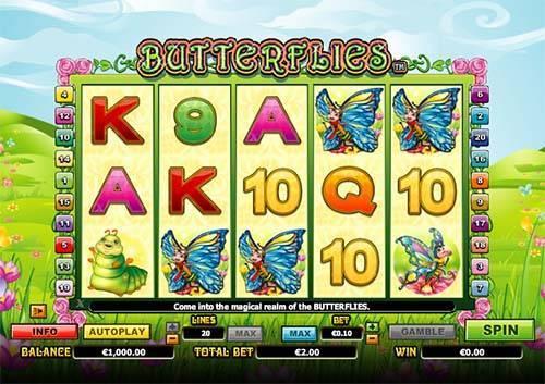 Butterflies free slot