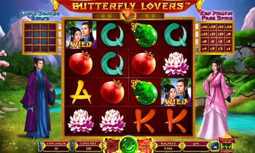 Butterfly Lovers free slot
