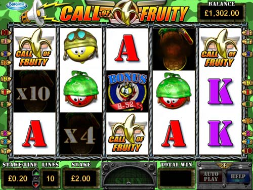 Call of Fruity free slot
