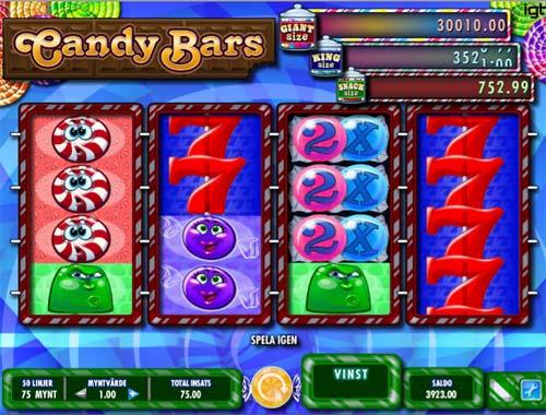 Candy Bars free slot