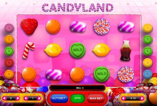 Candyland free slot