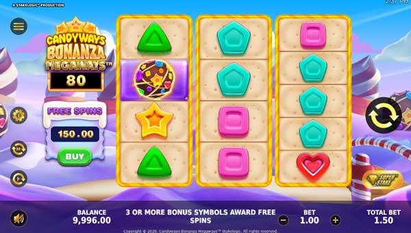 Candyways Bonanza Megawaysmegaways slot