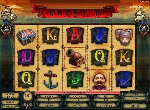 Canonball Bay free slot