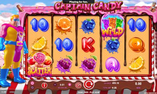 Captain Candy casino slot