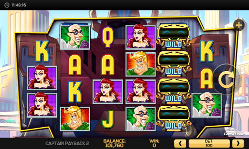 Captain Payback 2 free slot