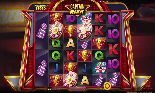 Captain Rizk Megaways free slot