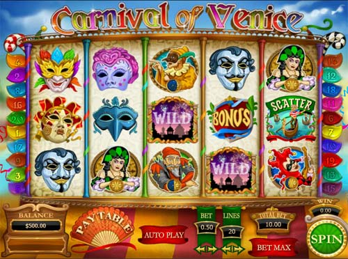 Carnival of Venice casino slot
