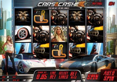 Cars And Cash casino slot