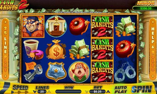 Cash Bandits 2 free slot