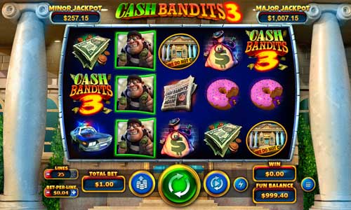 Cash Bandits 3 free us slot