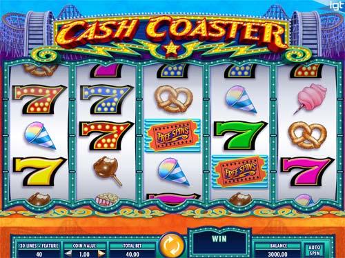Cash Coaster free slot