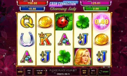 Cash Connection Charming Ladyjackpot slot
