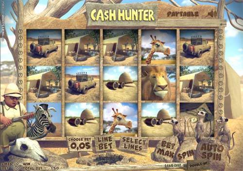 Cash Hunter free slot