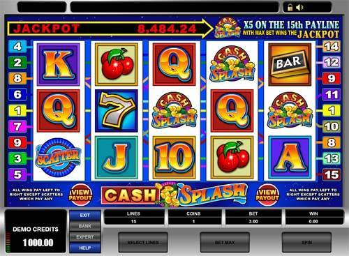 Cash Splash free slot