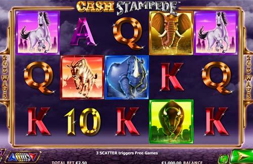 Cash Stampede free slot