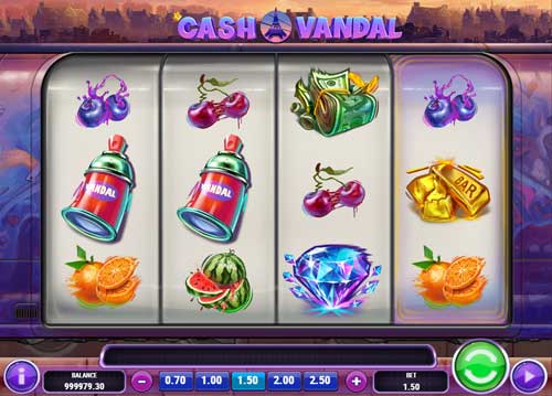 Cash Vandalcolossal symbols slot