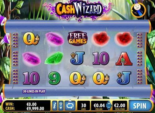 Cash Wizard free slot