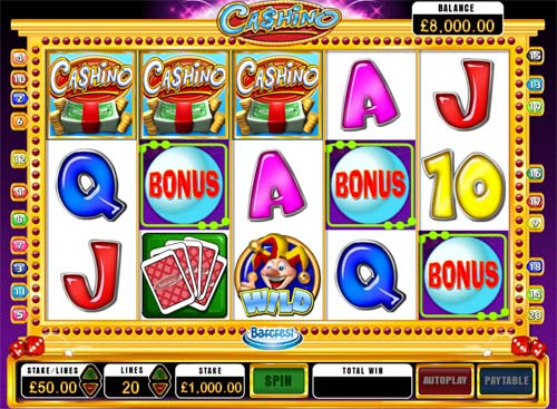 Cashino free slot