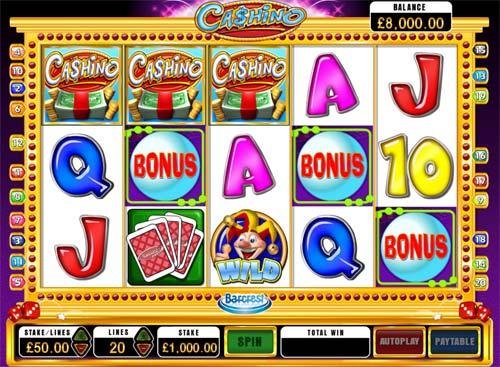 Cashino free slot